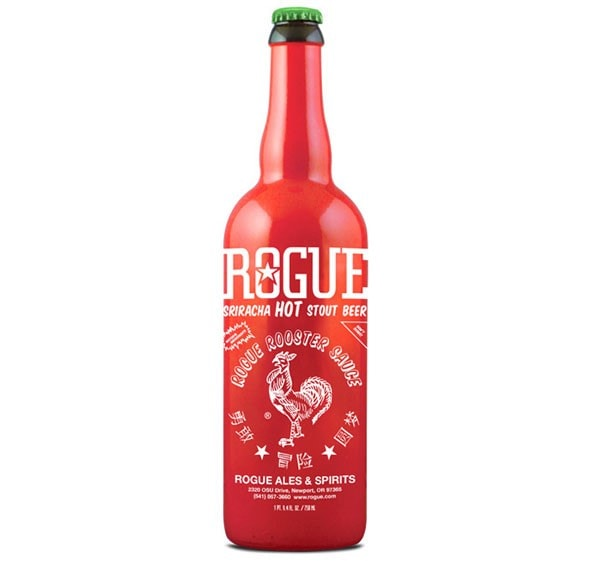 Sriracha Stout, A Brand New Spicy Beer from Rogue Ales