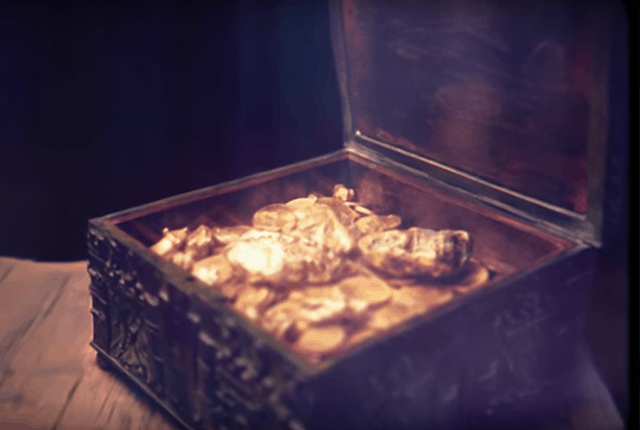 The Hunt for a 21st Century Treasure Chest