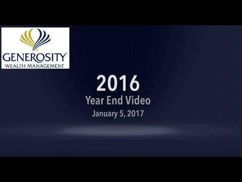 2016 Year End Recap