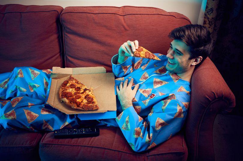"Domino's Pizza's ""No-stain Onesie"""
