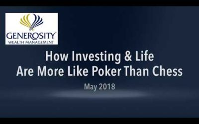 Investing And Life Are More Like Poker Than Chess