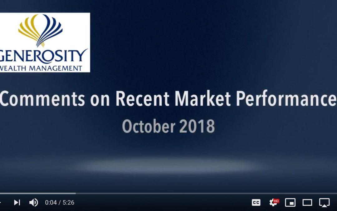 October 2018: Market Performance Updates