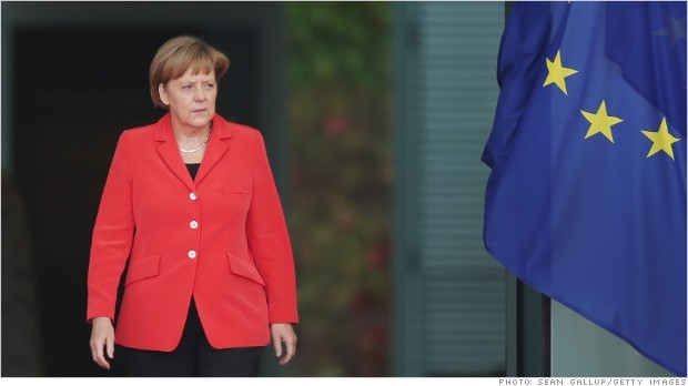 Risk of Third German Recession Pressures Europe