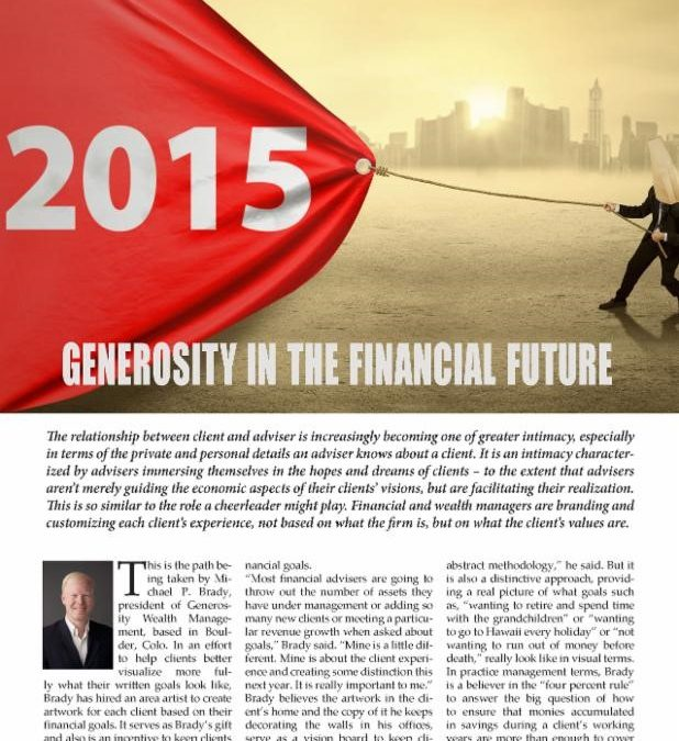 Great Article on Generosity Wealth Management