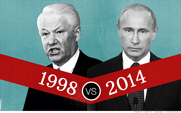 Russian Ruble Crisis:  Don't Panic like it's 1998