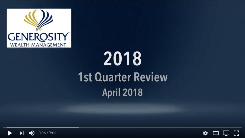 2018 1st Quarter Review