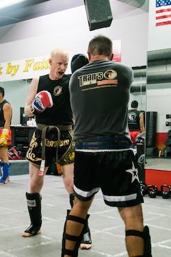 Michael Brady, Muay Tai Black Belt