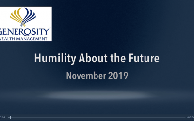 Humility About The Future