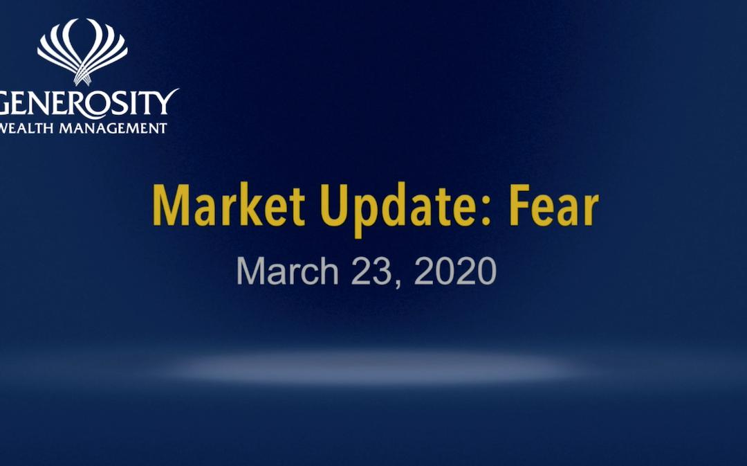 March 23, 2020 Market Update: Fear