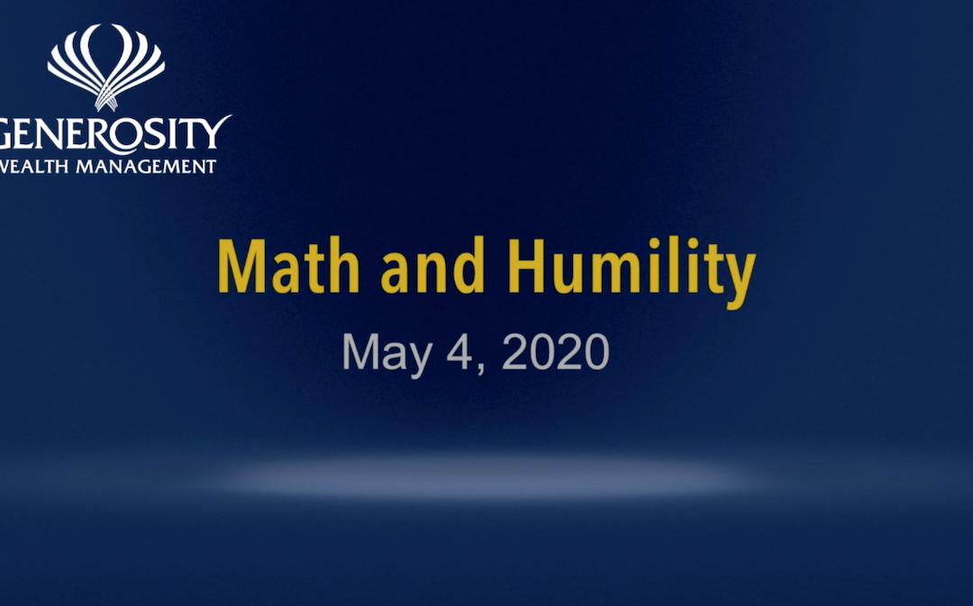 Math and Humility