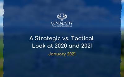 A Strategic vs. Tactical Look at 2020 and 2021