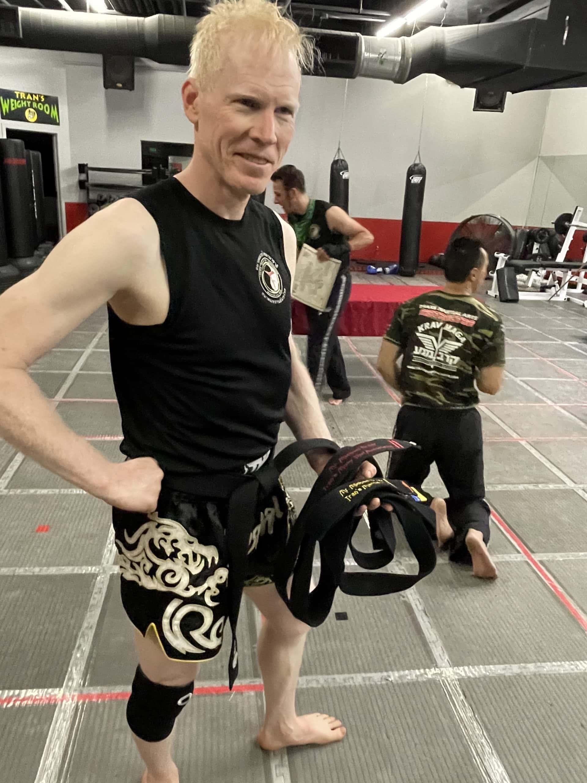 Mike Brady Generosity Wealth Two Time Black Belt Achievement